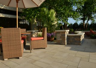 Chicago Marriott Naperville, IL <br> Product: Umbriano® Color: Summer Wheat