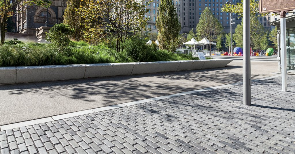 Public Square. Cleveland, OH  |  Product: Copthorne®