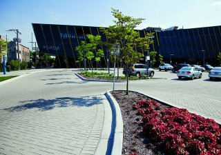 Northeastern Illinois University, Chicago IL <br> Product: Umbriano® Color: Winter Marvel