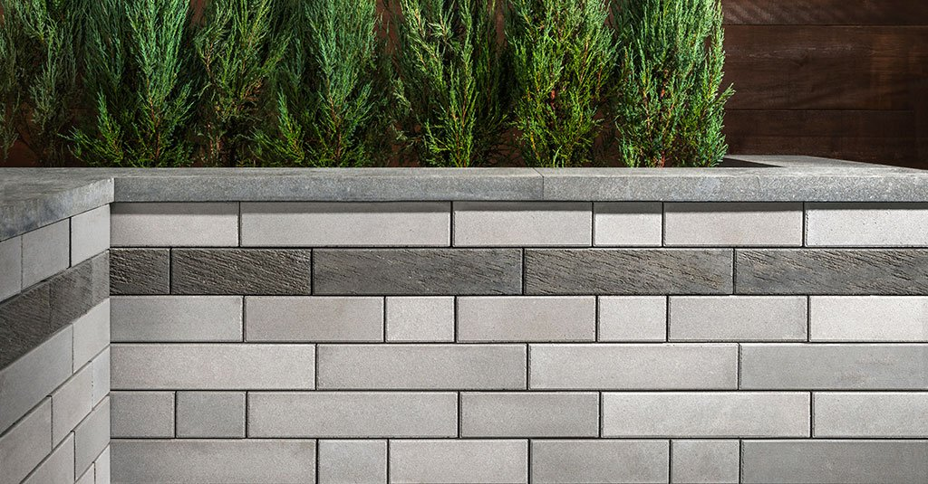 Product: Architextures™ Wall <br> Color: Opal Blend, Granite Blend IL Campo finish