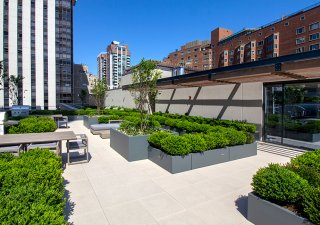 61 E Banks Roof Deck, Chicago, IL | Product: Arcana™ in Lugano