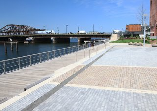 Lovejoy Wharf, Boston MA <br> Product: Hollandstone™ Color: Special Order
