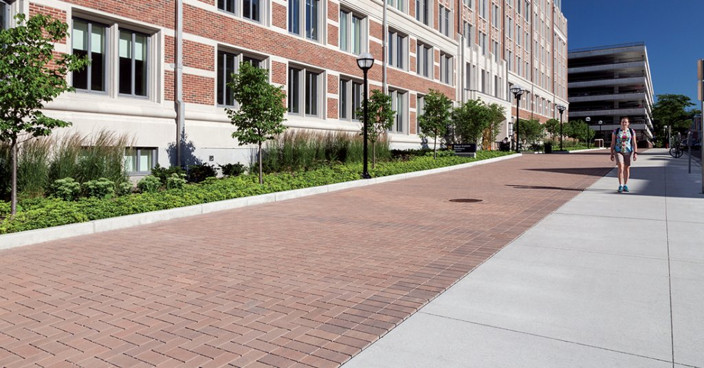 Munger Hall at University of Michigan. Ann Arbor, MI <br> Product: Eco-Priora - special order color
