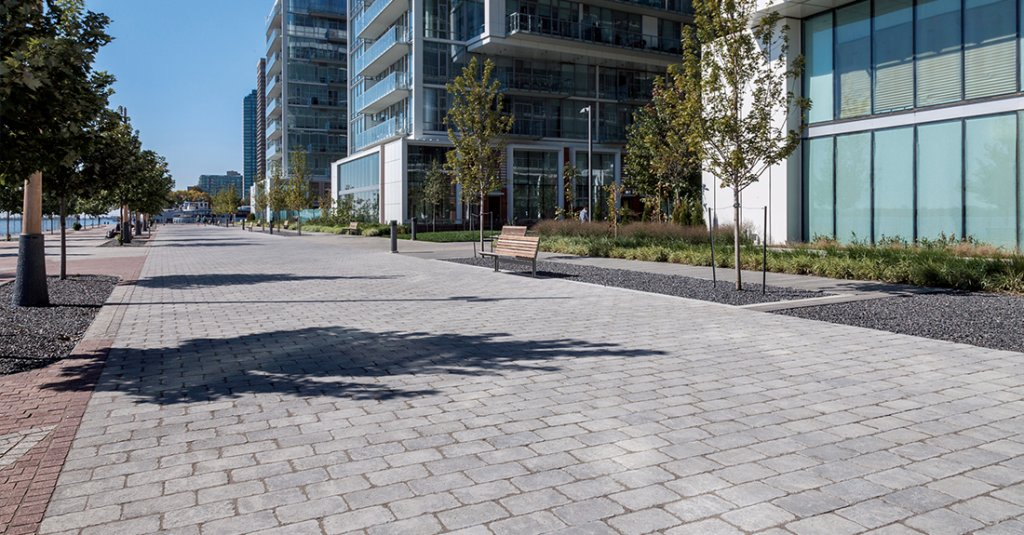 Brussels Dimensional access way at Pier 27, Toronto, ON