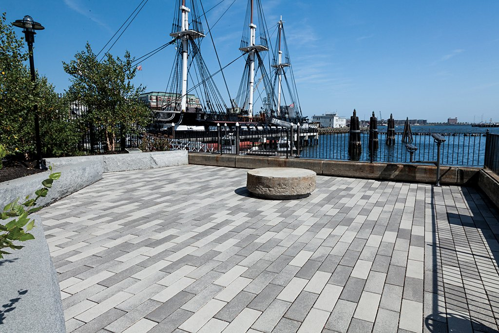 Promenade Plank Pavers at USS Constitution Overlook Park