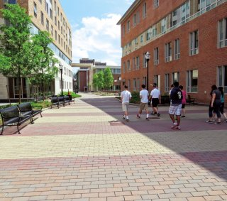 University of Massachusetts, Amherst MA <br> Product: Eco-Priora™ Color: Special Order