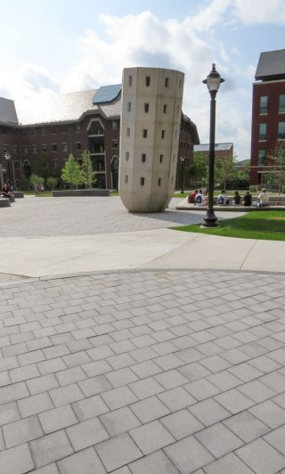 University of Connecticut, Storrs Connecticut <br> Product: Umbriano® Color: Winter Marvel, Midnight Sky